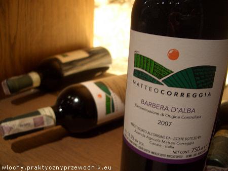 Wino Barbera