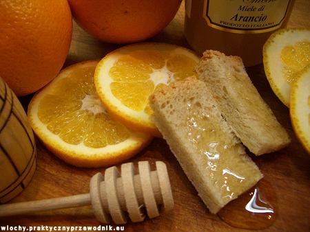 Włoski miód z pomarańczy