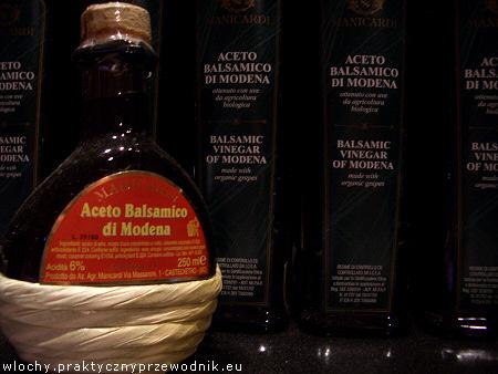 Ocet balsamiczny z Modeny