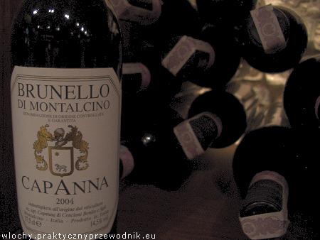 Toskańskie wina z Włoch