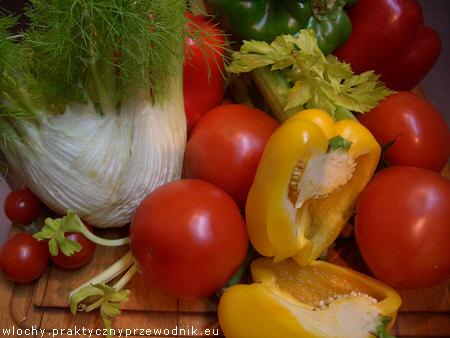 Warzywa używane w kuchni toskańskiej