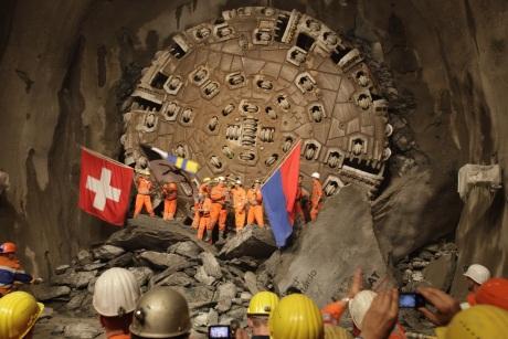 Tunel Gotharda otwarcie