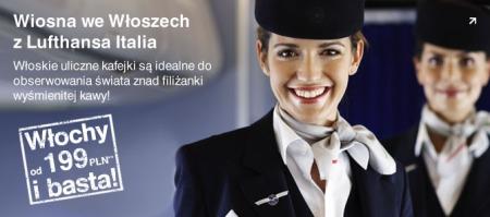 Loty do Włoch, Lufthansa, Promocja