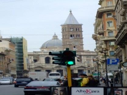 Rzym Światło drogowe
