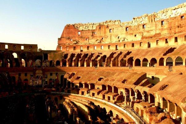 Wnętrza Koloseum