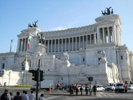 Rzym Pomnik Wiktora Emanuela