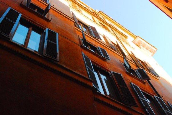 Rzym okiennice