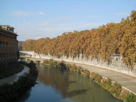 Rzeka Tybr