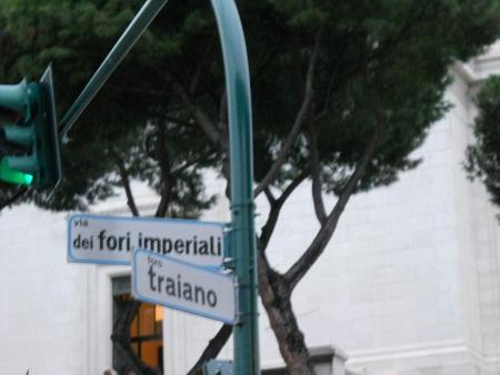 Droga Fori Imperiali w Rzymie