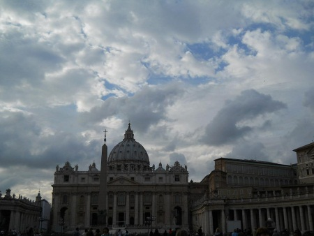 Watykan Plac Świętego Piotra