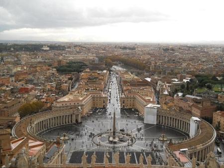 Rzym Kopuła Bazyliki Świętego Piotra