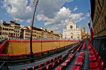 Florencja Kościół Świętego Krzyża