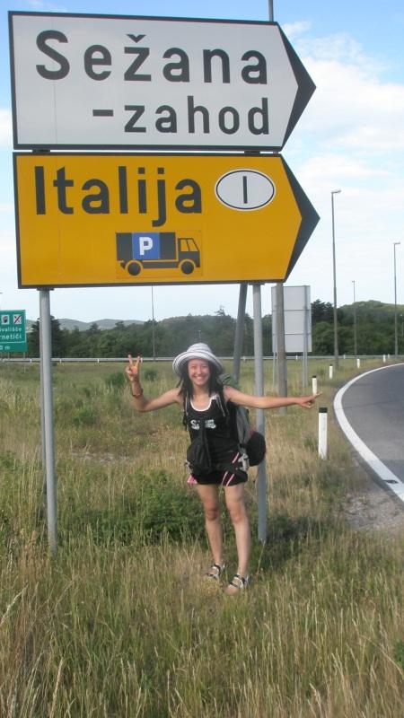 Włochy Autostop