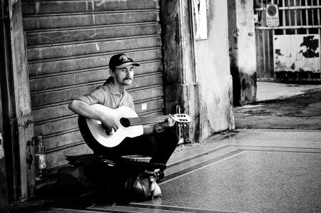 Włochy Muzyka na ulicach