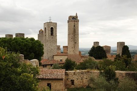 San Gimignano Wieże