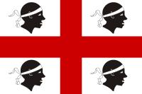 Flaga Sardynia