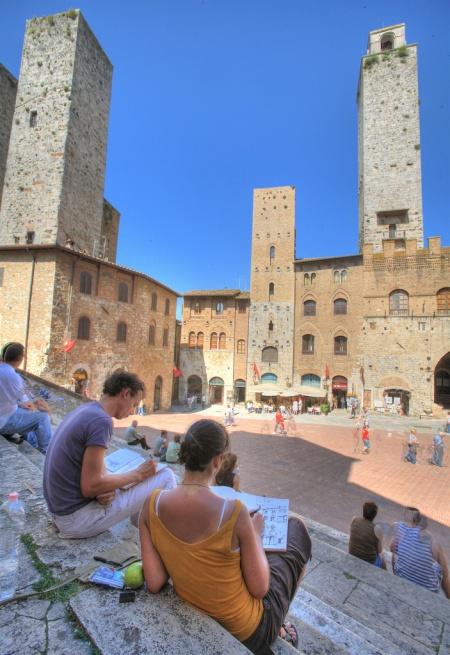 San Gimignano Włochy