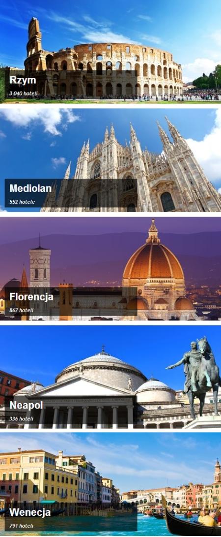 Włochy Noclegi