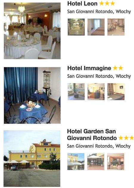 Hotele San Giovanni Rotondo