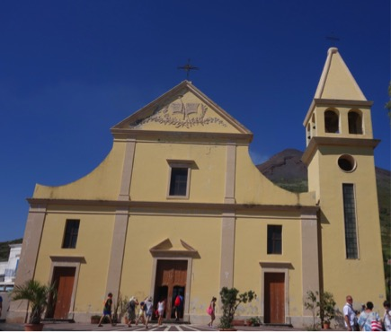 Stromboli Kościół